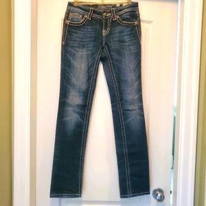 Miss Me Strait Leg Jean's size 26
